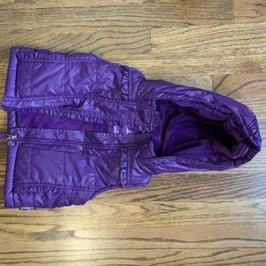 WEATHERPROOF Purple Quilted Vest 2T